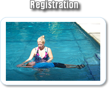 Swim lesson registration